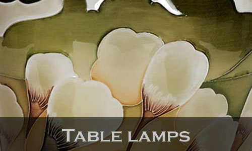 Retired Table lamps